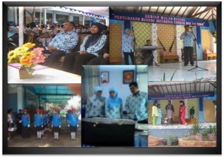 Gebyar Bulan Bahasa di SMPN 9 Cimahi